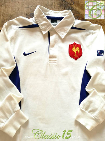 2003/04 France Away Rugby Shirt. (S)