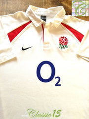 2002/03 England Home Rugby Shirt (XXL)