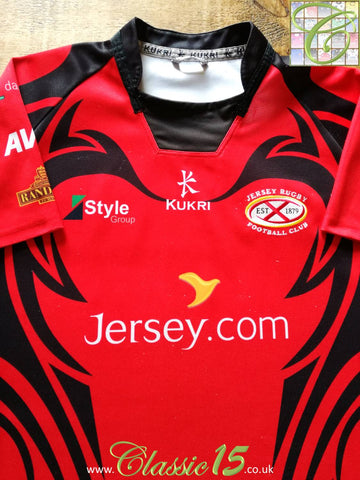 2012/13 Jersey Reds Home Rugby Shirt (L)
