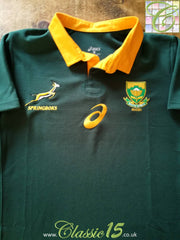 2017 South Africa Home Rugby Shirt (M)