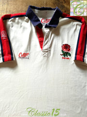 1992/93 England Home Rugby Shirt (XL)
