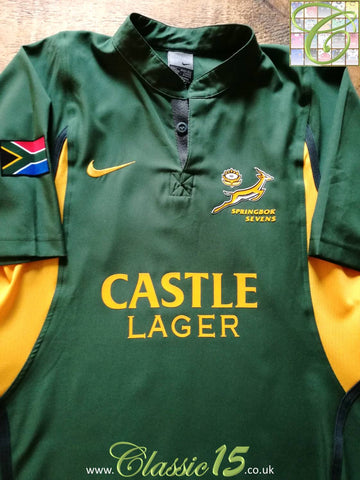 2003/04 South Africa Sevens Home Rugby Shirt (L)