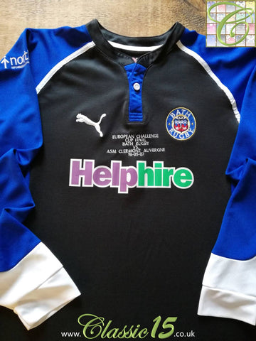 2007 Bath Home 'European Cup Final' Pro-Fit Rugby Shirt. (XL)