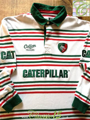 2014/15 Leicester Tigers Leisure Rugby Shirt. (XL)