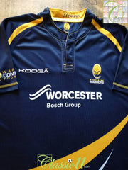 2014/15 Worcester Warriors Home Rugby Shirt (L)
