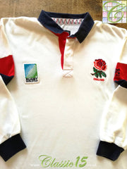 1995 England Home World Cup Rugby Shirt. (XL)