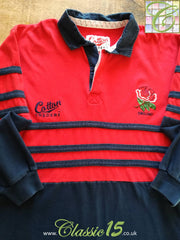 1995/96 England Away Rugby Shirt. (L)