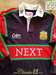 1998/99 Leicester Tigers Away Rugby Shirt. (S)