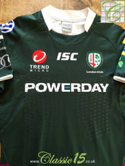 2011/12 London Irish Home Premiership Player Specification Rugby Shirt (L)