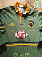 1998/99 Northampton Saints Leisure Rugby Shirt. (S)