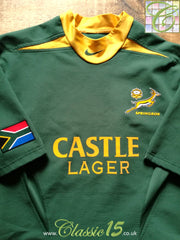 2003/04 South Africa Home Pro-Fit Rugby Shirt. (L)