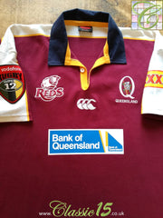 2003 Queensland Reds Home Super 12 Rugby Shirt (XL)