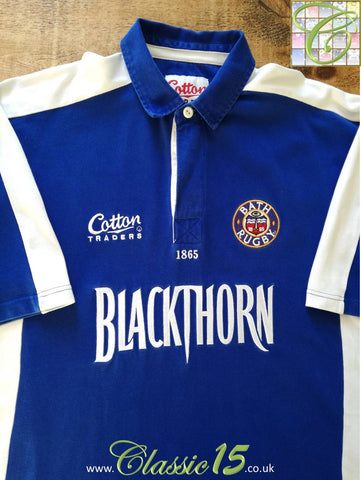 2003/04 Bath Leisure Rugby Shirt (XL)