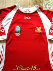 2007 Tonga Home World Cup Rugby Shirt (XL)
