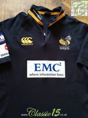 2009/10 London Wasps Home Rugby Shirt (L)