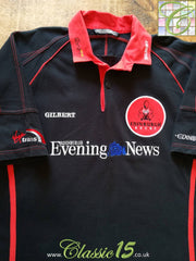 2002/03 Edinburgh Gunners Home Rugby Shirt (L)