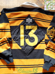 1997/98 Newport RFC Home Match Issue Rugby Shirt. #13 (L)