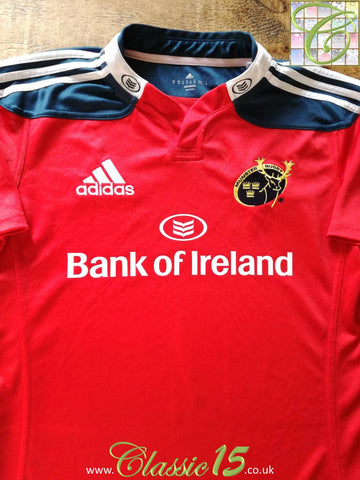 2014/15 Munster Home Rugby Shirt (S)