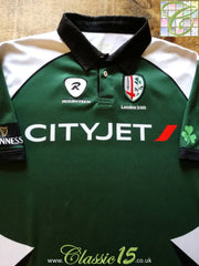 2009/10 London Irish Home Pro-Fit Rugby Shirt (3XL)