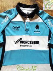 2010/11 Worcester Warriors Away Rugby Shirt (XXL)