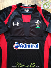 2011/12 Wales Away Pro-Fit Rugby Shirt (M)