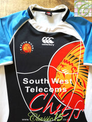 2007/08 Exeter Chiefs Warm-Up Rugby Shirt (XXL)