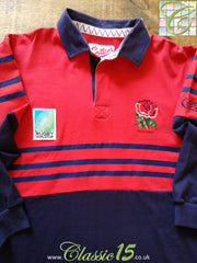 1995 England Away World Cup Rugby Shirt. (M)