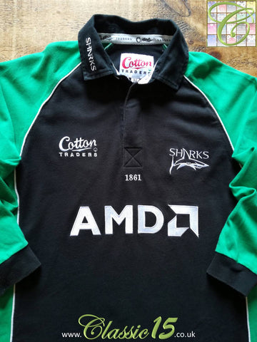 2004/05 Sale Sharks Leisure Rugby Shirt (M)