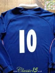 2001/02 France Home Rugby Shirt. #10 (L)