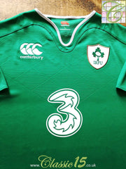 2015/16 Ireland Home Vapodri Rugby Shirt (M)