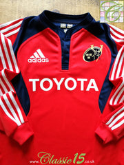 2007/08 Munster Home Rugby Shirt. (M)