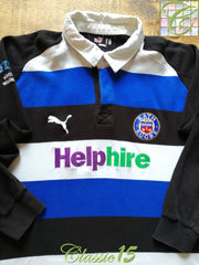 2008/09 Bath Home Rugby Shirt. (XXL)