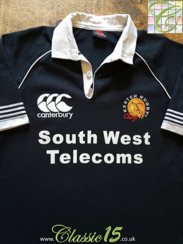 2007/08 Exeter Chiefs Leisure Rugby Shirt (S)