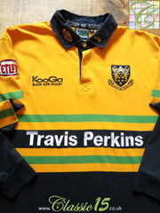 2002/03 Northampton Saints Away Rugby Shirt. (XL)