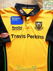 2005/06 Northampton Saints Away Rugby Shirt (XXL)