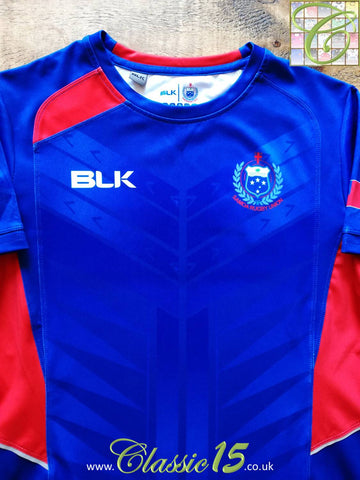 2015/16 Samoa Rugby Training Shirt (S)