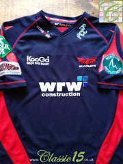 2008/09 Scarlets Away Rugby Shirt (L)