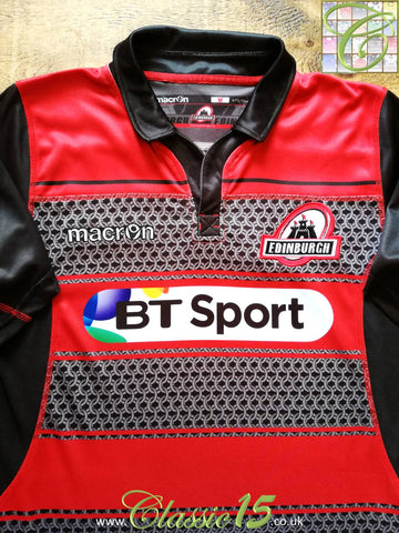 2015/16 Edinburgh Home Rugby Shirt (M)