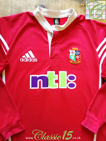 2001 British & Irish Lions Home Rugby Shirt. (L)