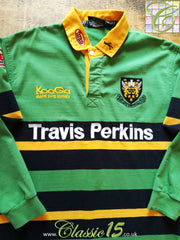 2002/03 Northampton Saints Home Rugby Shirt. (L)
