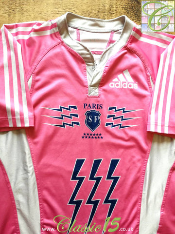 2007/08 Stade Francais Paris Away Rugby Shirt (XXL)