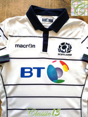 2016/17 Scotland Away Pro Body-Fit Rugby Shirt (XL) *BNWT*
