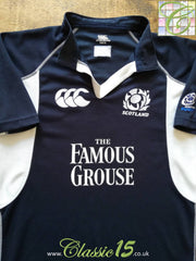 2005/06 Scotland Home Player Issue Rugby Shirt (XL)