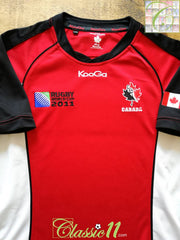 2011 Canada Home World Cup Rugby Shirt (L)