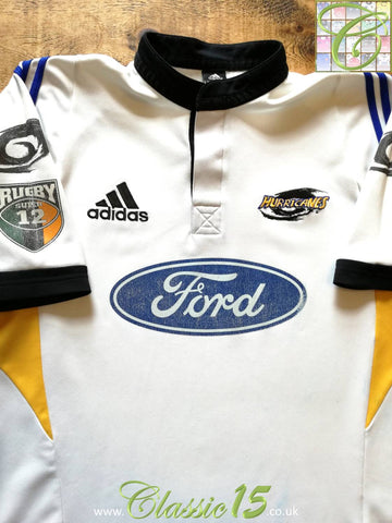 2001 Hurricanes Away Super 12 Rugby Shirt (L)
