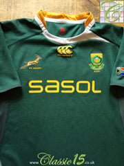 2009/10 South Africa Home Player Issue Rugby Shirt (XXXL)