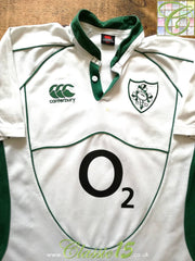 2007/08 Ireland Away Rugby Shirt (L)
