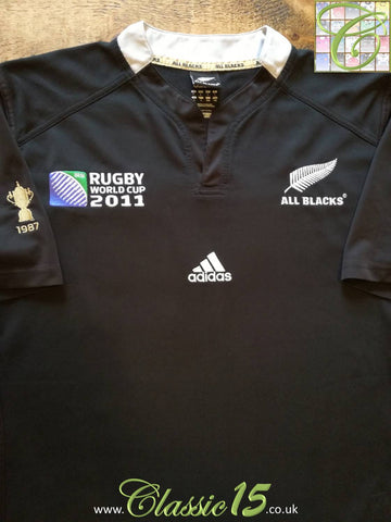 2011 New Zealand Home World Cup Rugby Shirt (L)