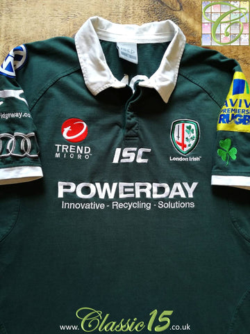 2011/12 London Irish Home Premiership Rugby Shirt (L)