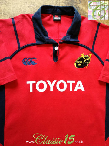 2005/06 Munster Home Rugby Shirt (Y)